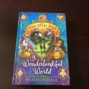 Ever After High hardcovers books (3)